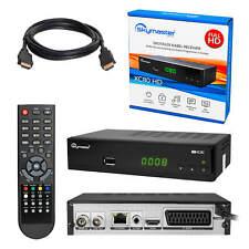 Skymaster XC80 HDMI DVB-C DVBC HD Kabel Fernsehen TV Receiver HDMI + HDMI Kabel
