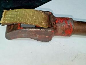 """Reed Mfg -number 12 -  Strap Wrench w/ 9"""" Handle needs new 1"""" strap"""