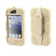 Apple iPhone 4S Griffin Survivor SAND Schutzhülle Case Cover Handy Tasche Bumper