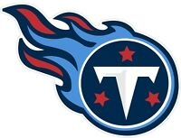 Tennessee Titans NFL Color Die Cut Vinyl Decal - You Choose Size