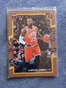 LeBron James Cartas NBA cards. Cleveland Cavaliers NMint donruss 2017/18 nmint