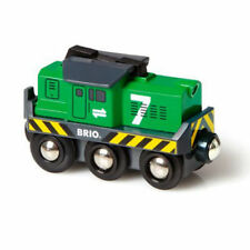 BRIO 33214 Freight Battery Engine for Wooden Train Set