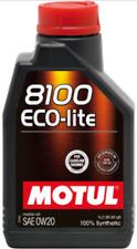 101525 Motul 8100 Olio Oil Motor Eco-lite 0w20 bassa Viscosità Sintetico 1l D