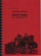 "Massey-Harris ""744D"" Tractor Service Manual"