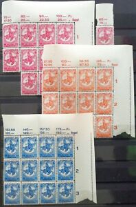 LUXEMBURG - LETZEBURG - LUXEMBOURG 1934: Kinderhilfe, 12 Serien **