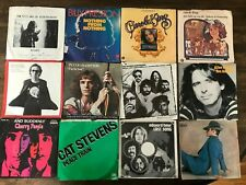 70s 80s Pop Rock Lot of 24 45 Picture Sleeves Only Tom Petty Elton John Foreign
