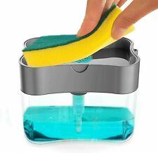 Dishwashing Soap Dispenser,Soap Dispenser Sponge Holder 2 in1,Dish soap Dispense