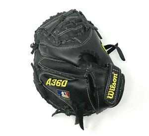 "Wilson A360 31.5"" Youth Baseball Catcher's Mitt Right Hand Throw A03RB15 CM315"