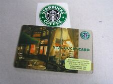 United States new Starbucks card 6045  night store inside OLD LOGO