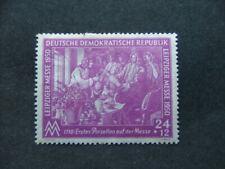 East Germany 1950 Spring Fair 24pf+12pf purple SGE7 MM