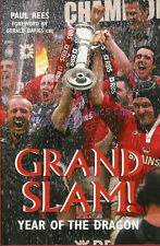 """Grand Slam Year of the Dragon"" by Paul Rees 2005 Rugby Book Signed Ryan Jones"