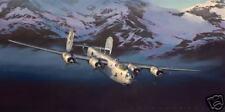"""Liberator!"" Jack Fellows B-24 Liberator Print"