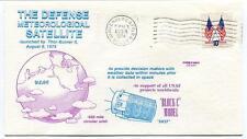 1974 Defence Meteorological Stellite Thor Burner 2 USAF Vandenberg NASA USA