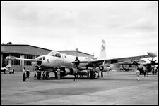 USN Lockheed P-2 P2V Neptune Parked On Ramp 8x12 Photo