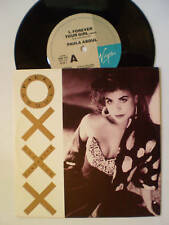 """PAULA ABDUL 7""""45  - """"FOREVER YOUR GIRL (remix) / NEXT TO YOU"""" - 1989"""