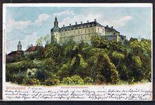 Colorierte ak Bad Bad castillo Friedrich piedra corriendo Bad-Coblenz