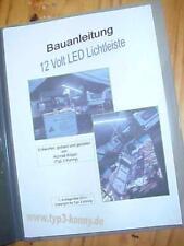 Bauanleitung für LED Beleuchtung / Verkaufszelt / Verkaufsstand / Pavillion