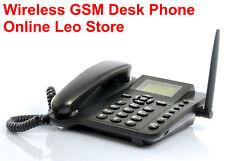 SIM CARD Wireless GSM Desk Phone - Quadband, SMS function.