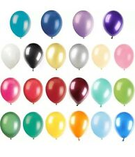 Latex Party Balloons Mixed Colours Pack Of 50 Birthday Party Wedding Decoration