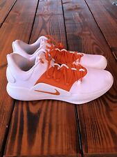 Nike Hyperdunk X Low TB White Total Orange Basketball Shoes Size 14 (AT3867-103)