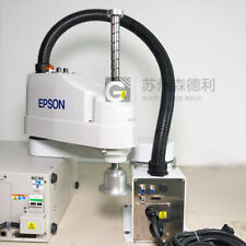 Used EPSON Scara Robot 600mm Max 6Kg LS6-602S /w RC90 Controller