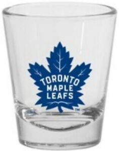 Toronto Maple Leafs 1.5oz Round Team Logo Shot Glass