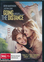 Going The Distance DVD NEW Region 4 Drew Barrymore
