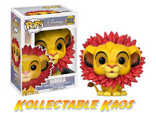 The Lion King - Simba (Leaf Mane) Pop! Vinyl Figure