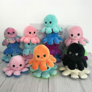 Cute Dolls Reversible Plush Toys For Children gift decoration Double-sided