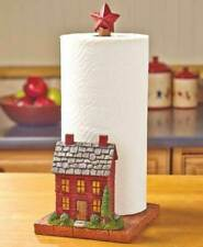 New listing 3D Kitchen Countertop Paper Towel Holder Primitive Rustic Star Country