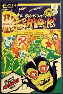 Mr. Monster's Super-Duper Special #7  May 1987  Hi-Shock Schlock! Horror Comics