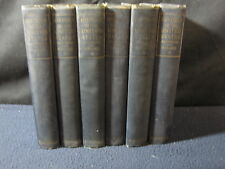 History of the United States 1917 6 Volume Set by E. Benjamin Andrews