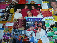 BACKSTREET BOYS - MAGAZINE CUTTINGS COLLECTION (REF T4)