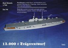 13.000 t Trägerentwurf        1/700 Bird Models Resinbausatz/resin kit