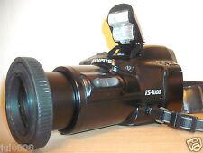 OLYMPUS IS-1000 35MM FILM BRIDGE CAMERA~35-135MM ED HIGH RESOLUTION LENS 67JY13