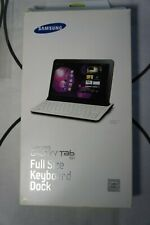 Brand New Samsung ECR-K14 ECR-K14AWEGSTD Full Size Keyboard and Galaxy Tab Pouch
