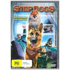 DVD STEP DOGS Dylan Schmid Brittney Wilson Talking Dog Comedy Family PG R4 [BNS]