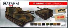 Hataka Hobby Paints US ARMY MERDC CAMOUFLAGE COLORS Acrylic Paint Set
