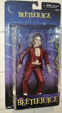 DISCONTINUED NECA Cult Classics Icons Series 1 BEETLEJUICE (RED TUXEDO) Figure!