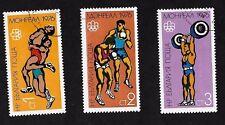 Bulgaria #2333-2335 Olympic Games 1976- 3 Values  CTO