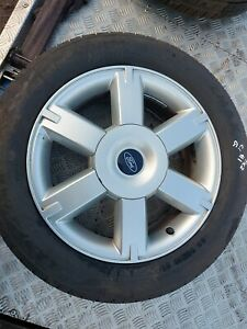 Ford focus mk2 16in alloy wheel and tyre 205 55 16  #1g c1