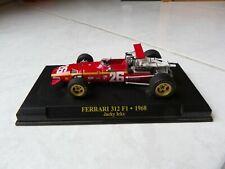 Ferrari 312 F1 Jacky Ickx #26 1968 1/43 F1 Ixo Altaya Formule 1