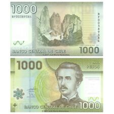 Chile 1000 Pesos 2011 P-161a Polymer Banknotes UNC