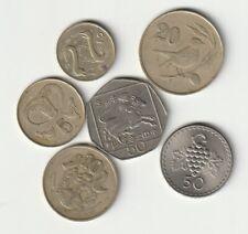 CHIPRE   Lote de monedas