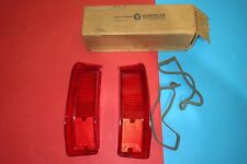 Mopar OEM, 1973 Plymouth Valiant tail light lens. Right & Left. NOS.