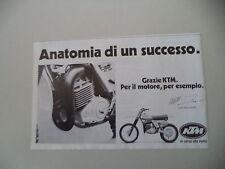 advertising Pubblicità 1979 KTM MC 250 '80