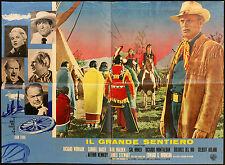CINEMA-soggettone IL GRANDE SENTIERO widmark, J. FORD
