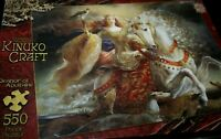 New Eleanor of Aquitaine Puzzle Kinuko Craft Horse 550 pcs Sealed   BKK#