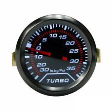"2"" 52mm Auto Manometro Pressione Turbo -1 +2 bar Turbo Boost Gauge CM Universale"