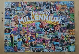 White Mountain, The New Millennium, 1000 piece puzzle, 2000-2010 rare #1404T